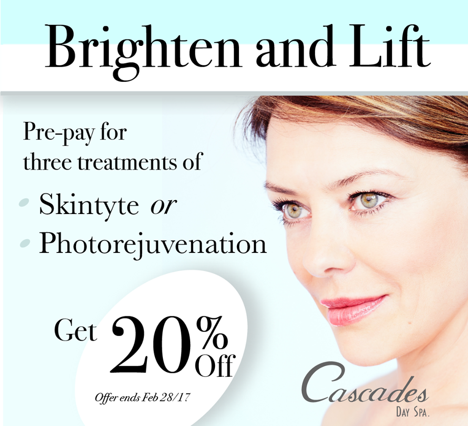 Brighten and Lift Promotion